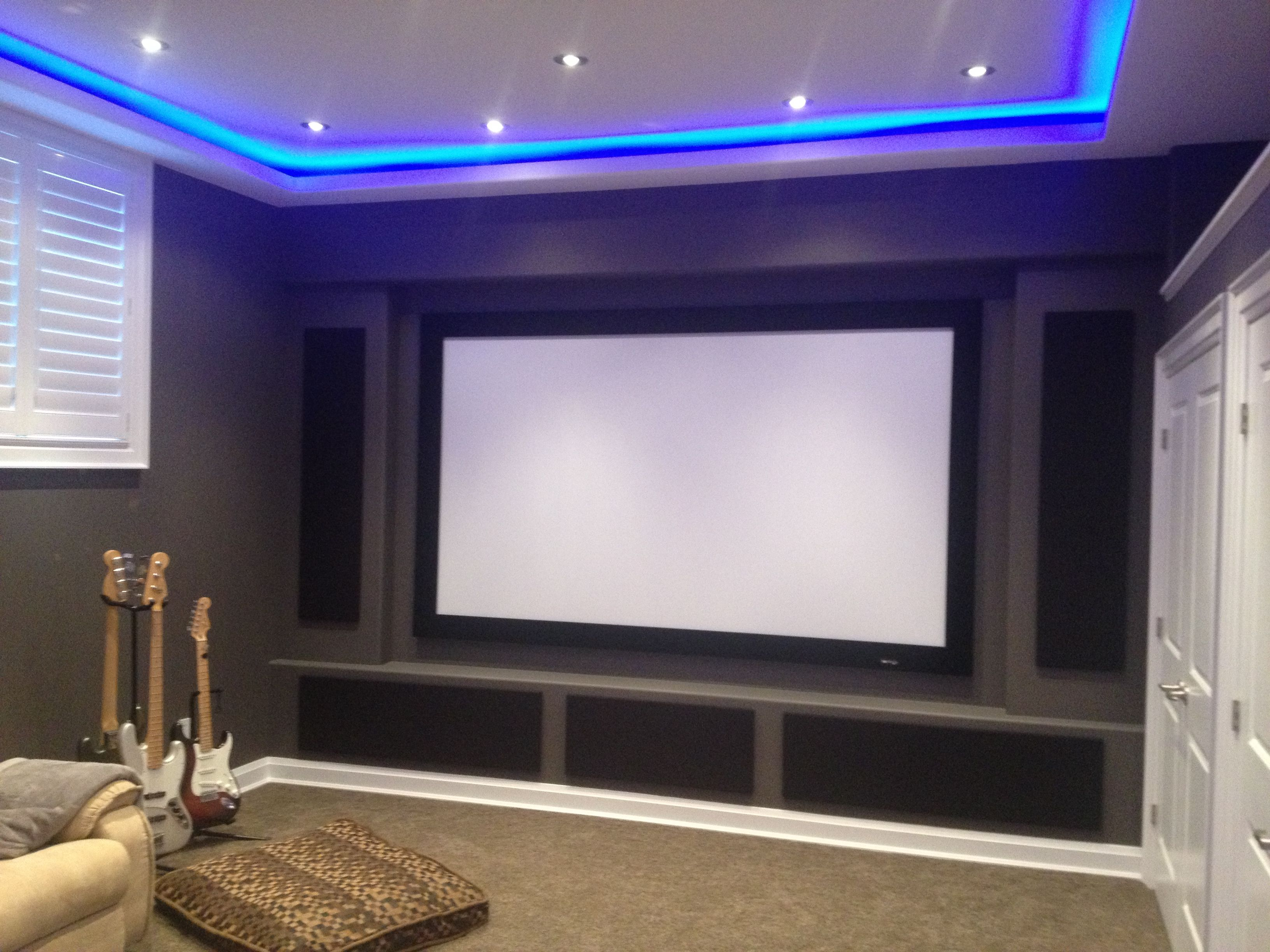 Custom Home Theatre Designed By Toronto Home Theater.