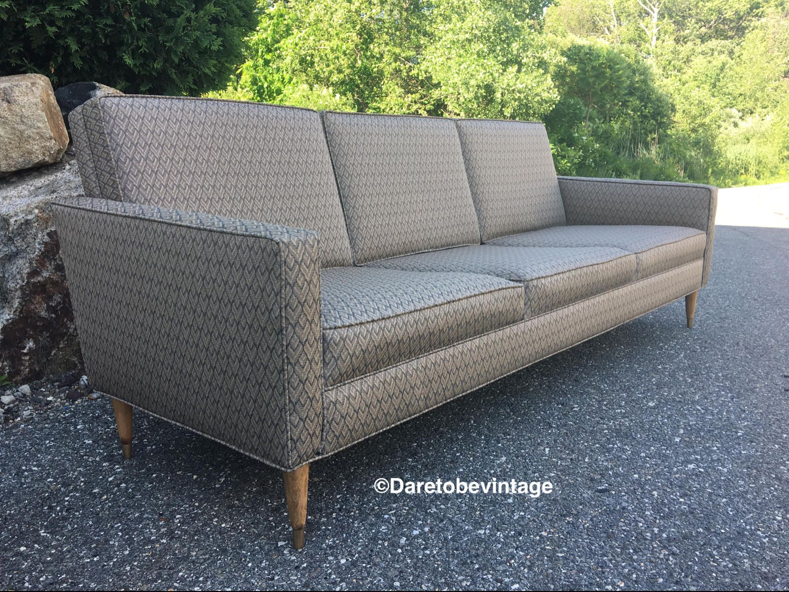 vintage mid century modern couch. Mid Century Modern Couch Sofa - Vintage Danish Style