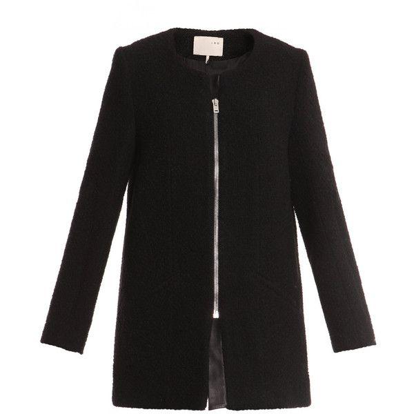 Iro coats BLACK ($655) ❤ liked on Polyvore