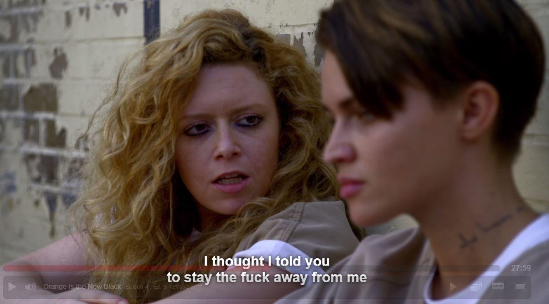 nero lesbica carcere