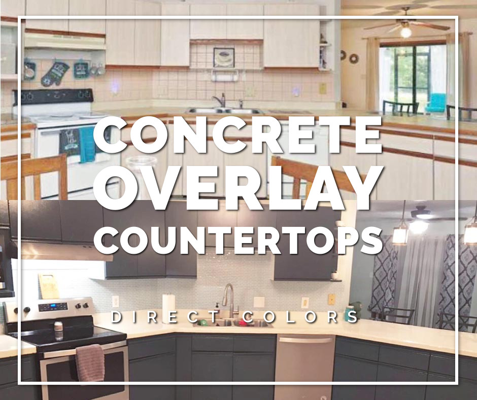 Refinish Old Formica Countertops With Concrete Overlay Concrete