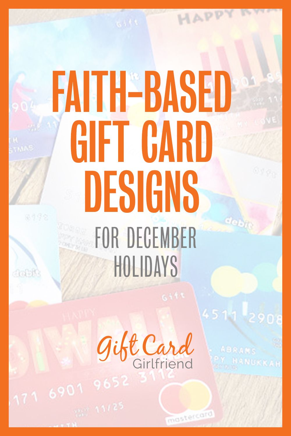 Christmas Hanukkah And Other Faith Based Gift Card Designs Giftcards Com Gift Card Design Gift Card Card Design