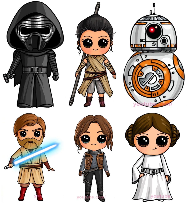 Cute Drawings, Star Wars Drawings