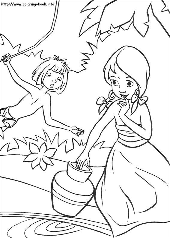 Jungle Book coloring picture | Disney Coloring Pages | Pinterest ...