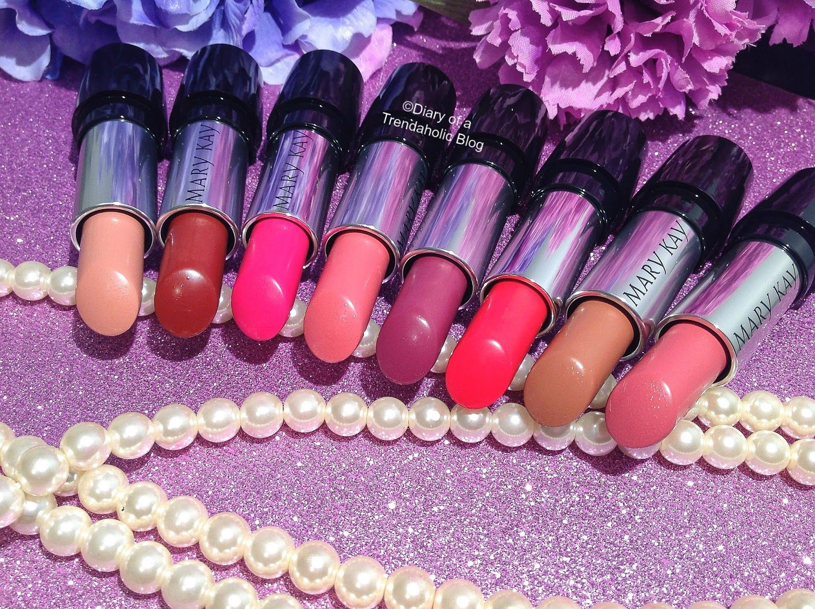 Mary Kay Gel SemiMatte Lipstick Review Mary kay