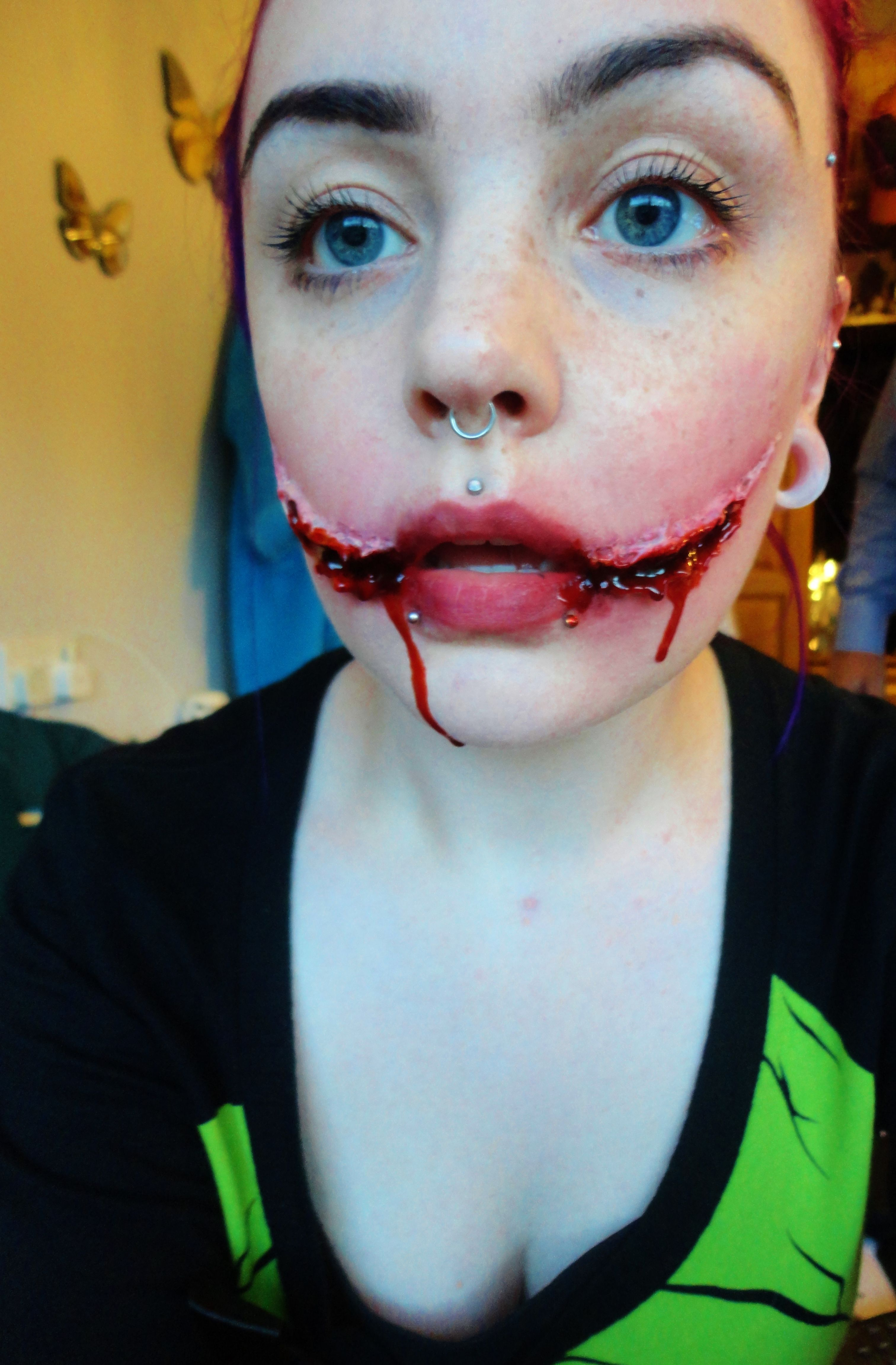 Chelsea Smile sfx makeup | Special Effects - New and Improved ...