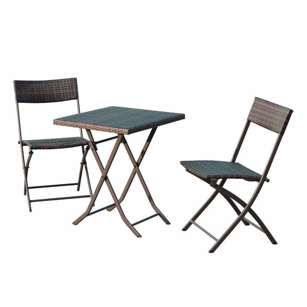 Cheap outdoor rattan bistro set patio furniture set rectangular