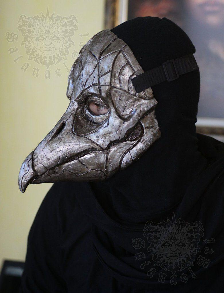 Plague doctor mask - fiberglass | Morrigan Makeup | Pinterest ...