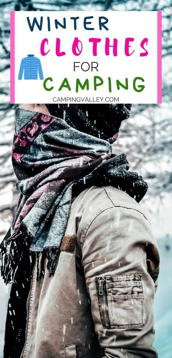 Photo of Cold Weather Camping Clothes
