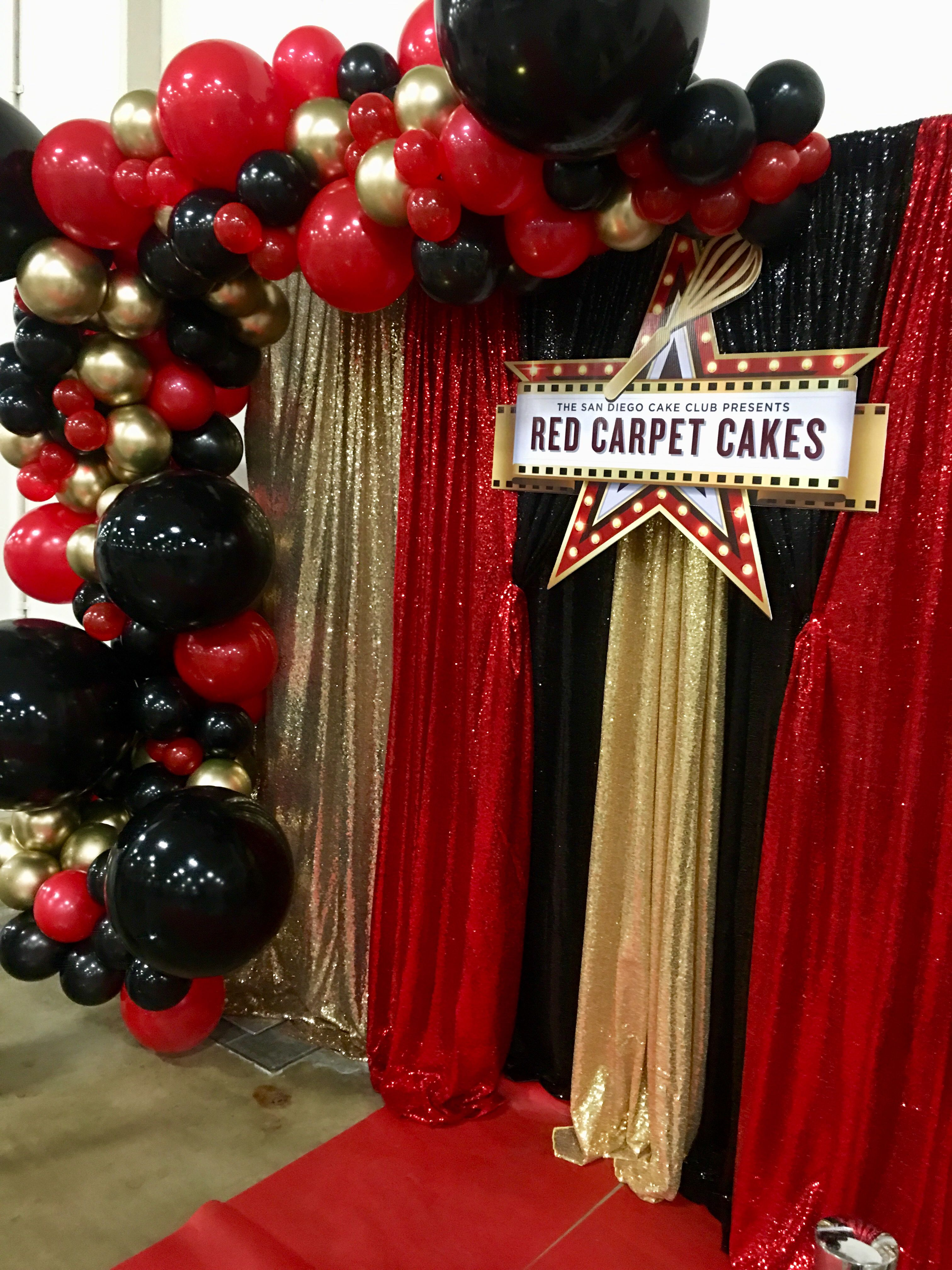Red Carpet Event Photo Booth Red Birthday Party Vegas Theme Party Red Carpet Party