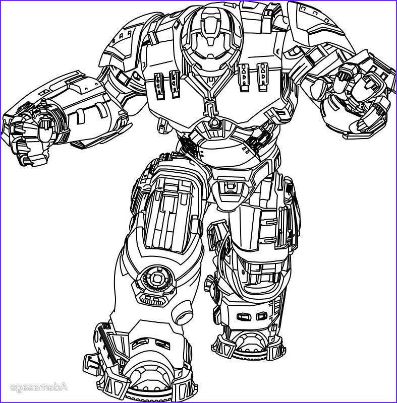 11 Awesome Collection Of Hulk Buster Coloring Page Avengers Coloring Pages Iron Man Hulkbuster Avengers Coloring