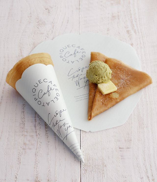 大人のための本格派フレンチクレープ店「gelato pique cafe creperie」が「gelato pique なんばマルイ店」に併設してオープン!