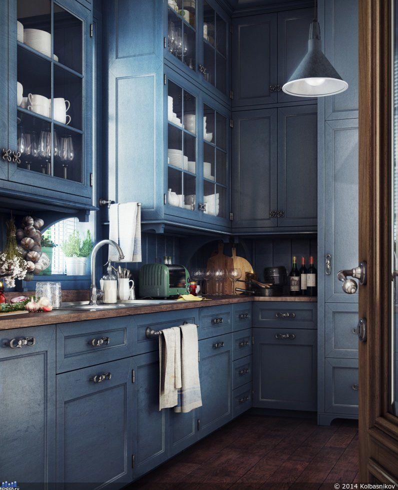 Kitchen — Компьютерная Графика И Анимация — Renderru  Cg Endearing Interior Design Kitchens 2014 Inspiration Design