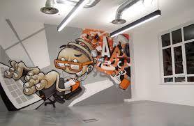 Resultado de imagem para grafite na decoração de interiores