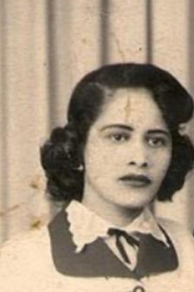 A picture of my grandma in her younger years.