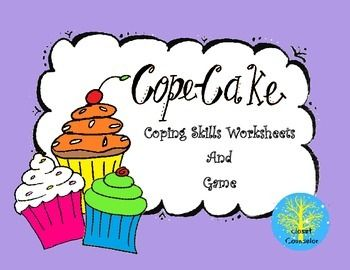 Cope-Cakes: Coping Skill Worksheets | Coping skills, Worksheets ...