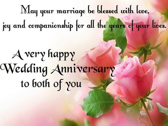 A very happy Wedding Anniversary to both of you anniversary anniversary quotes h...