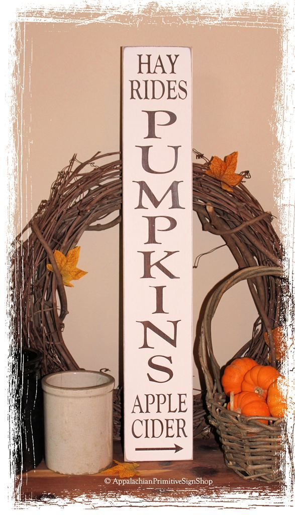 #vertical #pumpkins #vertical #rustic #signs #rides #apple #cider #wood #wood #sign #fall #hayvertical wood signs | 256 Pumpkins Hay Rides Apple Cider - WOOD SIGN- Vertical Fall Rustic ... #woodsigns