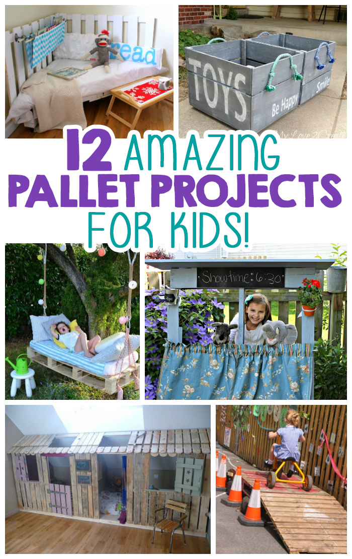 12 Pallet Projects For Kids