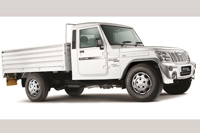 Mahindra Introduces New Bolero Pick Up Flat Bed With Micro Hybrid