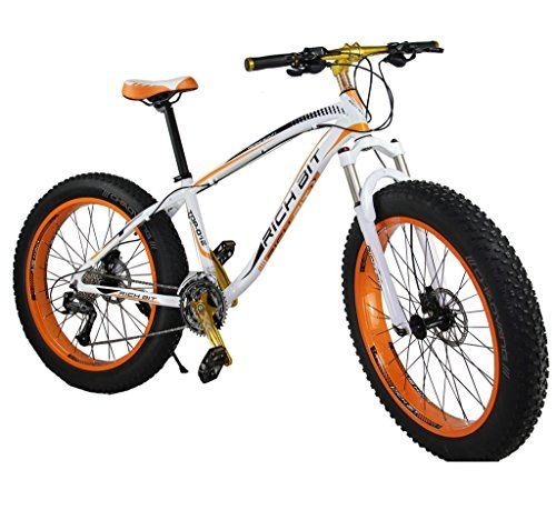 Richbit Snow Bike Cruiser Mountain Bike Cycling RT012 Orange ...