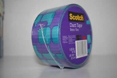 Scotch Brand Duct Tape Rolls! Prints /& Patterns 1.88 IN x 10 Yards Choice