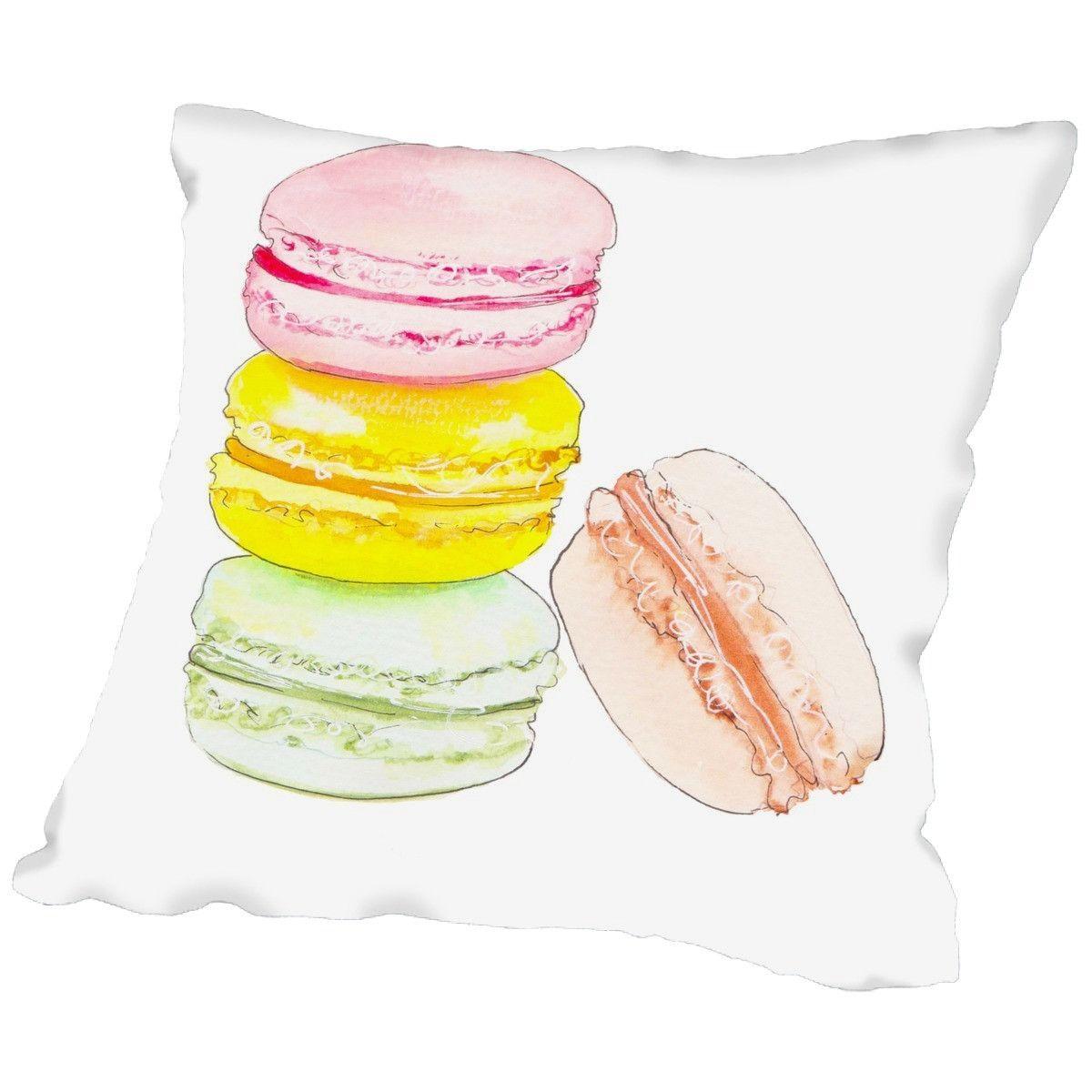 Alison B Macarons Throw Pillow Throw Pillows Macarons Pillows