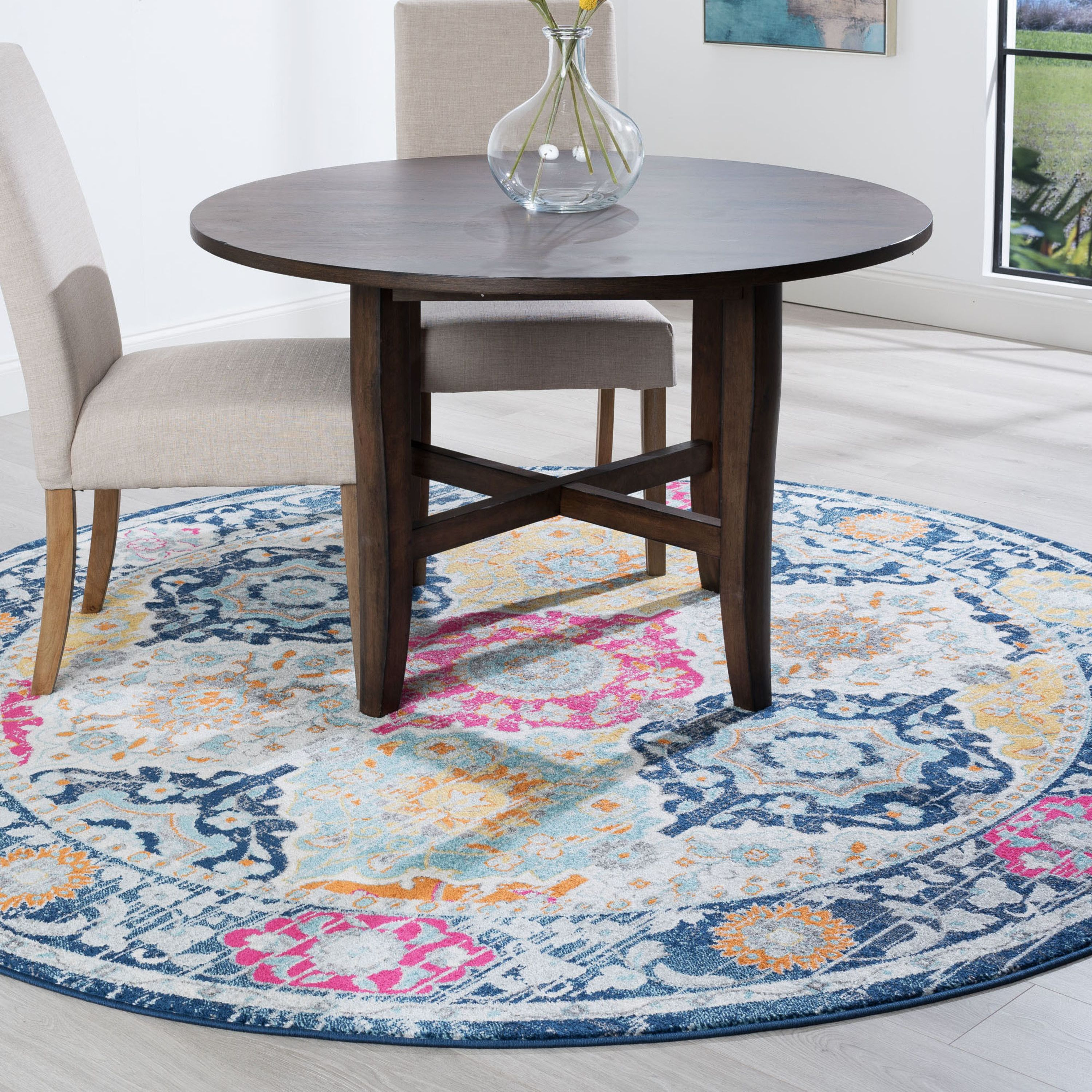 Home In 2020 Round Area Rugs Area Rugs Transitional Area Rugs