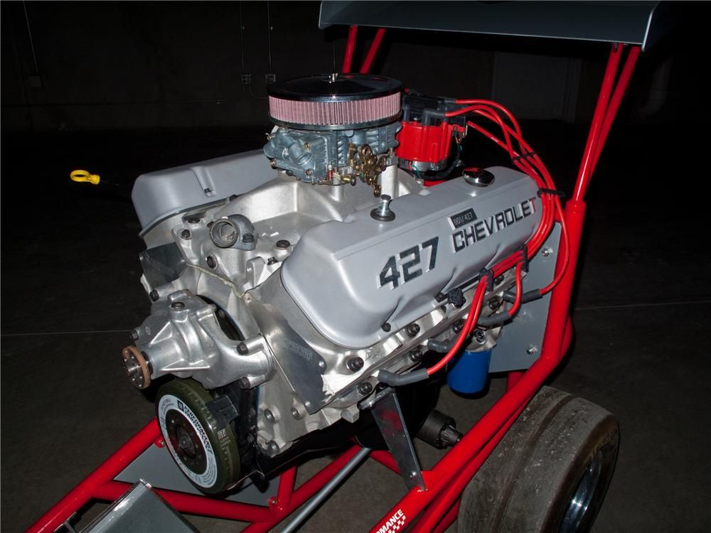 2008 Gm Performance Parts Anniversary Edition 427 Engine Serial