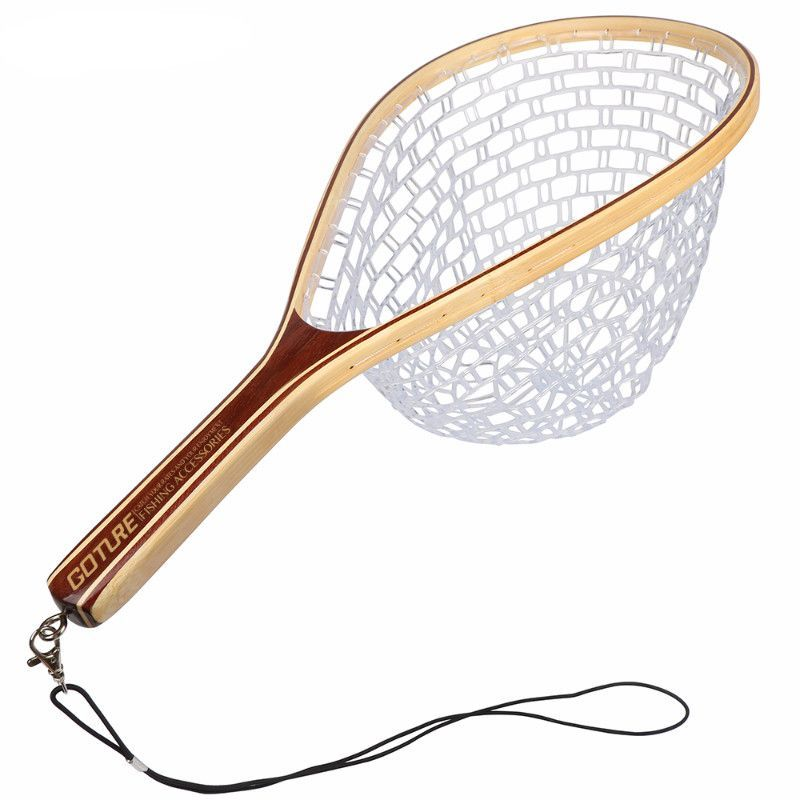 Fly Fishing Landing Net Bamboo Frame | Mechanic tools and Products