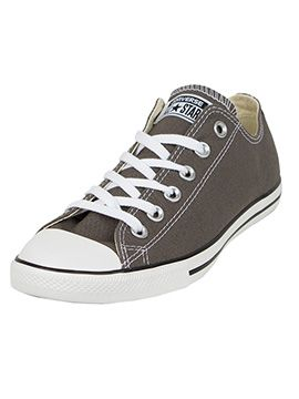 converse lean all star ox trainers charcoal