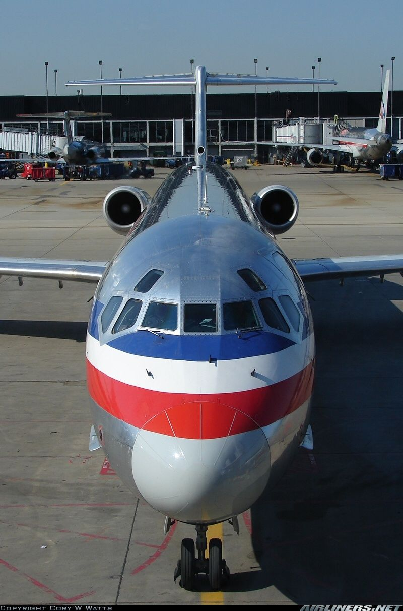 Mcdonnell douglas md82 dc982 american airlines