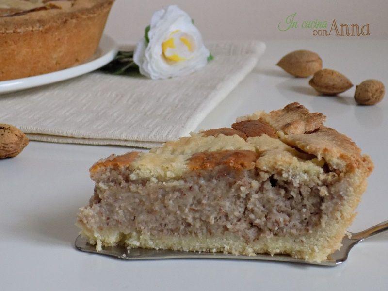 Torta Mandorle Bimby.Crostata Alle Mandorle Con O Senza Bimby Ricette Dolci