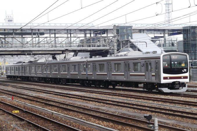 205系通勤形電車 日本の旅 鉄道見聞録 鉄道 写真 鉄道 旅