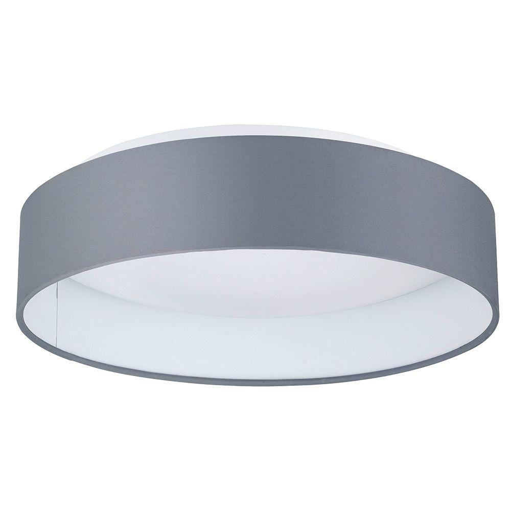 Eglo Palomaro 12 5 In W X 3 5 In H Anthracite Dimmable