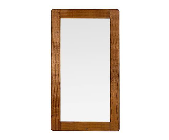 Espejo de pared en madera de mindi Flash - 80x150 cm Proyecto