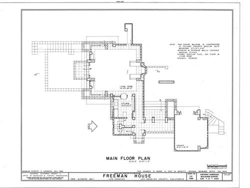 Brilliant Complexity Of Space In A Very Small Floor Plan Frank Lloyd Wright Homes Frank Lloyd Wright Lloyd Wright