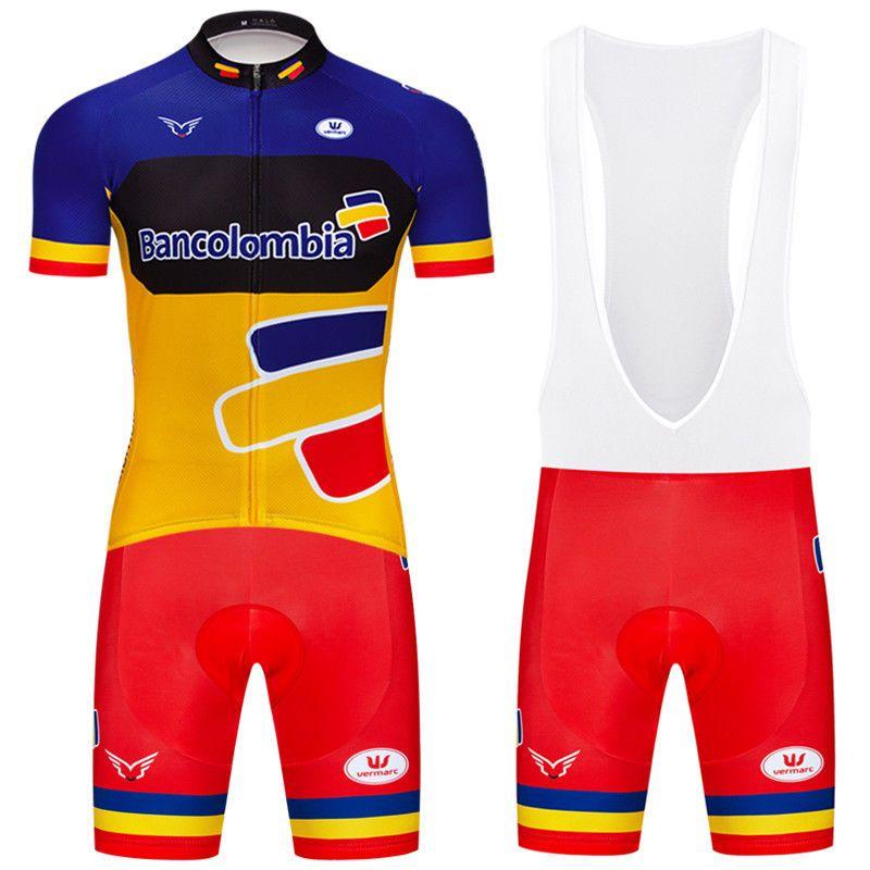 Mens Pro Cycling Bike Jerseys Short Sleeve Bib Shorts Set Racing Shirt Pad  Pants  DKGEMN a64adb5a6