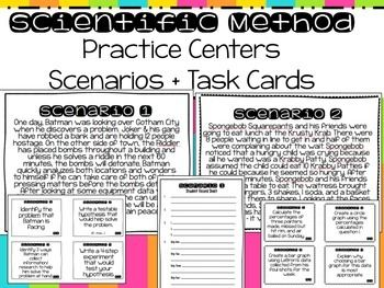 Scientific Method Centers   TpT Science Resources   Pinterest ...