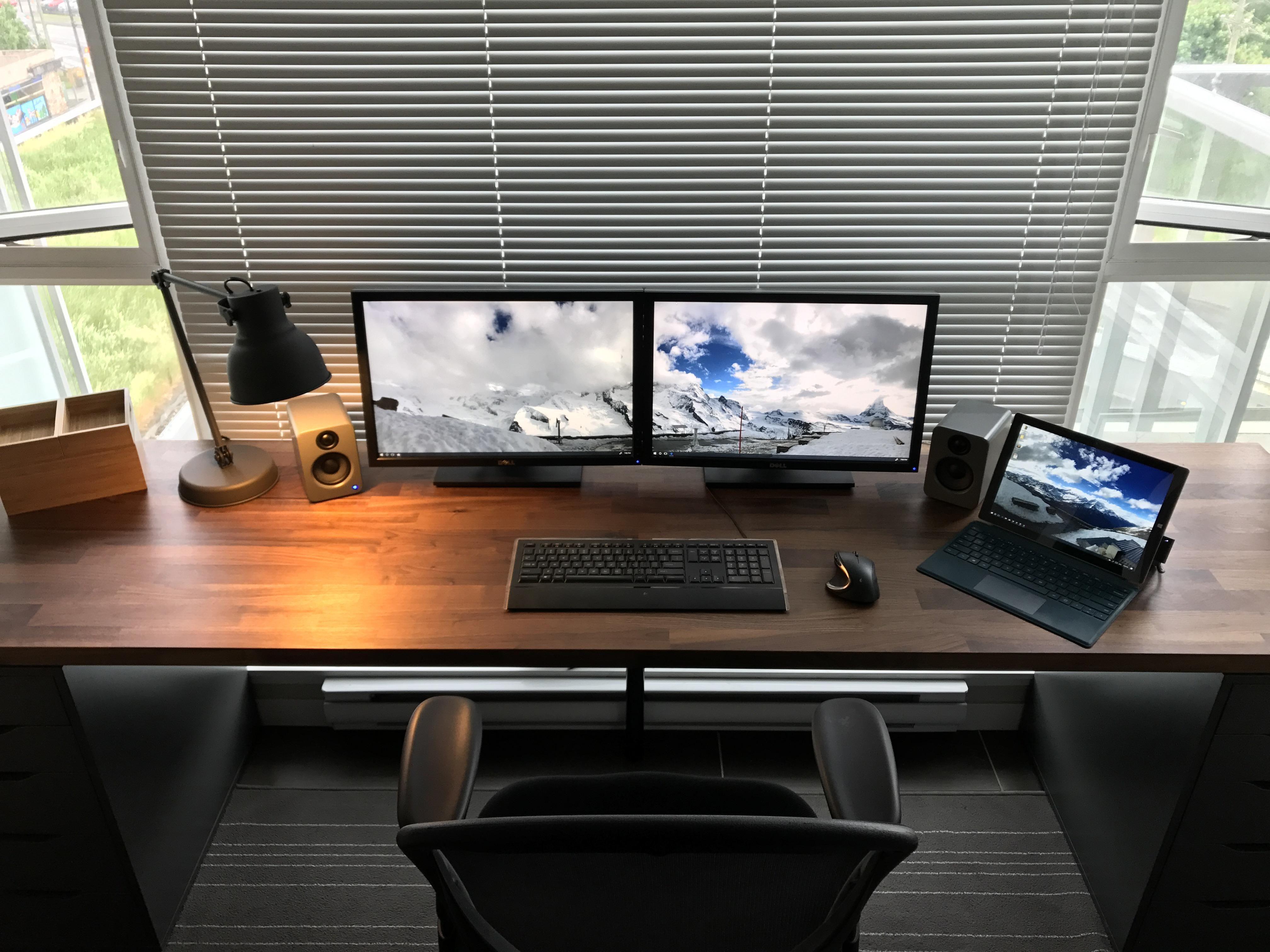 Ikea Karlby Reddit Szukaj W Google Home Office Setup Ikea Office Setup