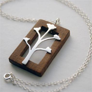 Wooden frame pendant pinterest wooden frames pendants wooden frame pendant mozeypictures Gallery