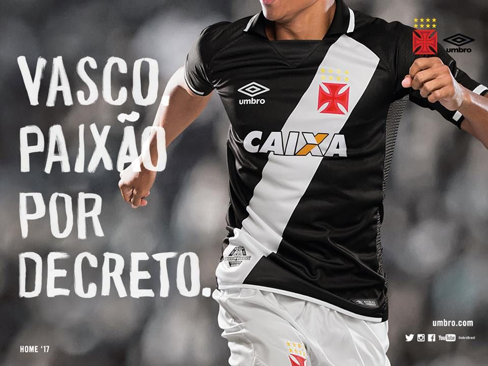 Camisas do Vasco da Gama 2017-2018 Umbro edfd0d8e57c20