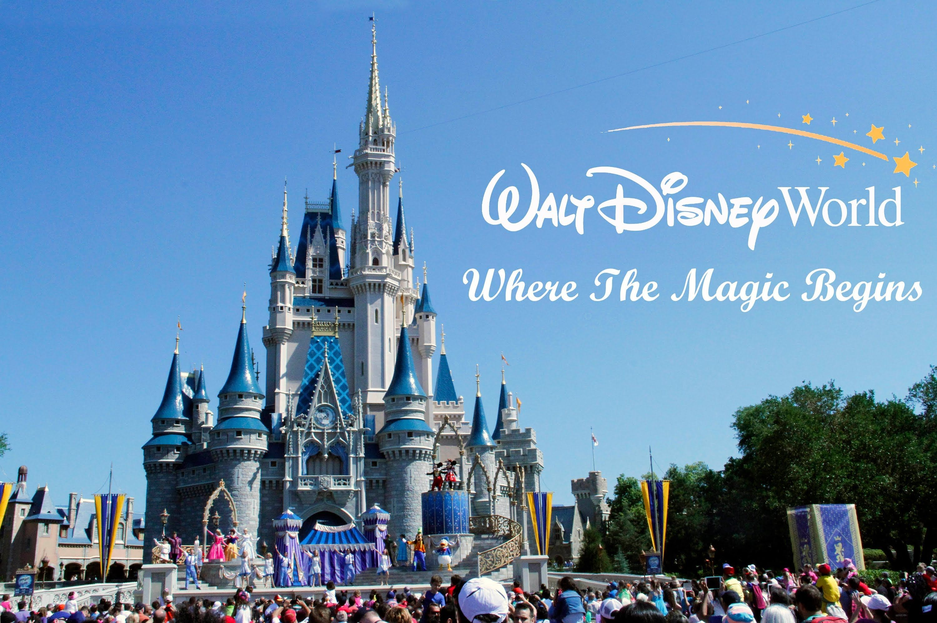 magic kingdom walt disney world orlando florida youtube