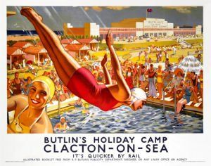 Butlins Holiday Camp, Clacton-on-Sea J Greenup
