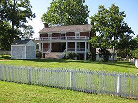 Appomattox Court House National Historical Park The Mclean House Surrender House Civil War History Appomattox Court House Civil War Sites