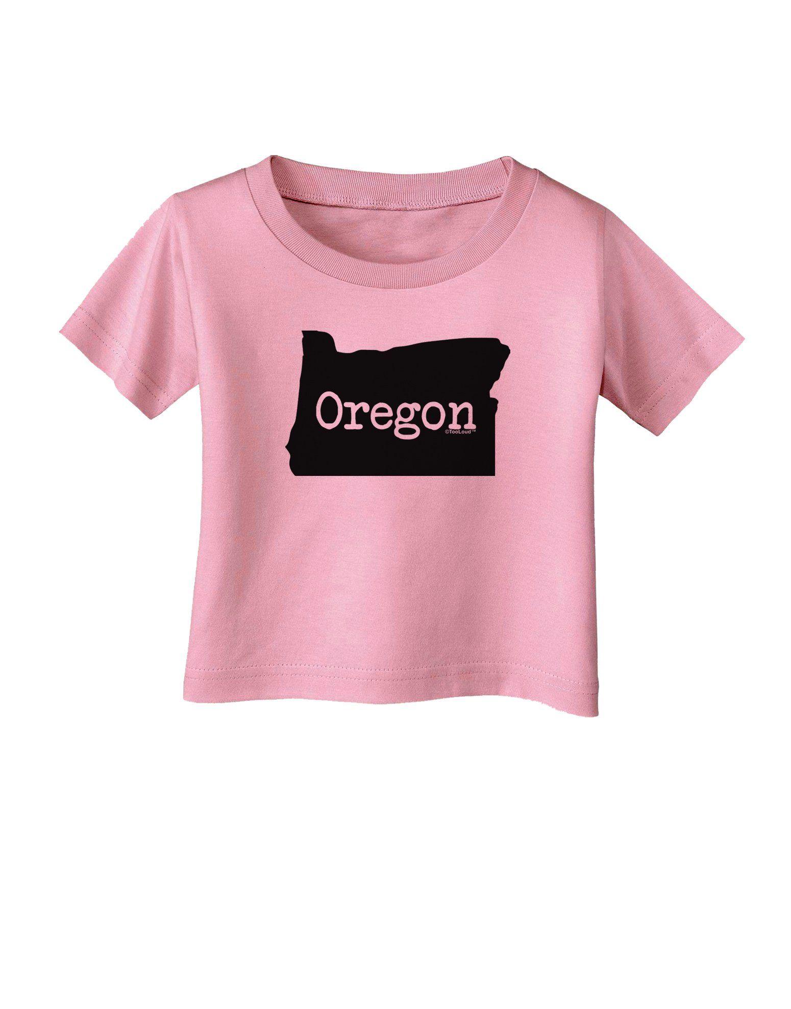 Oregon - United States Shape Infant T-Shirt by TooLoud