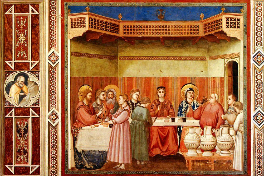 Pin Von Emre Turker Auf Wedding At Cana Giotto Kunstproduktion Renaissance Kunst