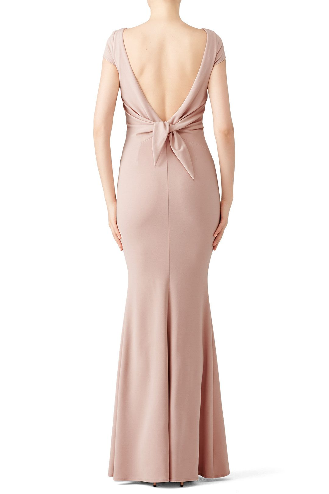 Rent Rose Intrigue Bow Gown by Katie May for $70 only at Rent the ...