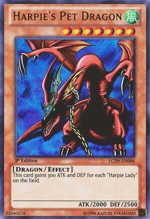 Harpies Pet Dragon Rare Yugioh Cards Yugioh Dragons Yugioh