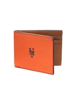 COACH San Francisco Giants Bifold Leather Wallet. #coach #wallet